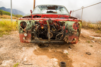 Junk Cars Are Piling Up On Oahu