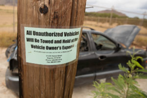 City Stuck With Abandoned Cars Registered To Service Members