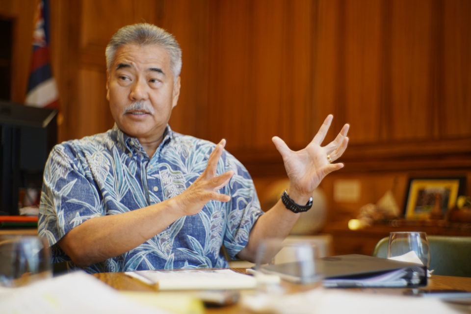 Hawaii Gov. David Ige Talks Schools With Civil Beat