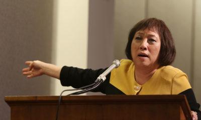 House Finance hearing rail Congresswoman Colleen Hanabusa.