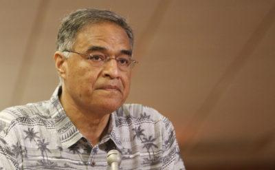 Mufi Hannemann,CEO president Hawaii Lodging Tourism Association answers WAM committee questions.