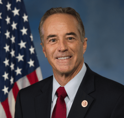 """U.S. Rep. Chris Collins touts his """"Grade A"""" approval rating from the NRA"""