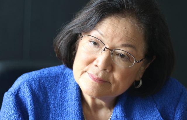 Senator Mazie Hirono inour editorial board1.
