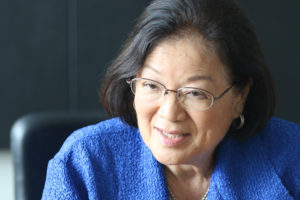Hirono Finds Her Mojo In The Era of Trump