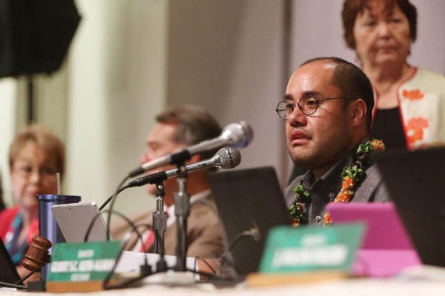 WAM Chair Donovan Dela Cruz during legislature extended session to sort out details on additional rail funding.