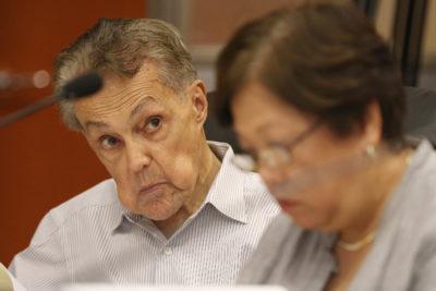 HART Board member John Henry Felix at board meeting.