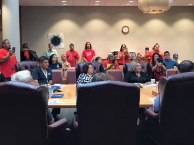 Hawaiian Charter School Concerns Dominate OHA Meeting