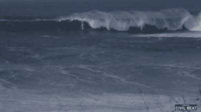 VIDEO: Sights And Sounds: Waimea Bay High-Surf