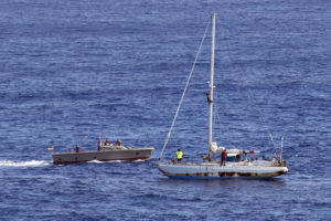 Navy Rescues 2 Honolulu Women Lost In The Pacific For Months