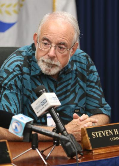 HPD Police Commission Judge Steven Levinso.