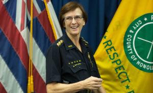 Susan Ballard To Be Sworn In Wednesday As Honolulu Police Chief