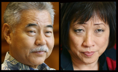 Ige, Hanabusa Power Up Their Fundraising