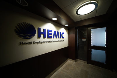 HEMIC offices located at 1100 Alakea Street, Suite 1400.