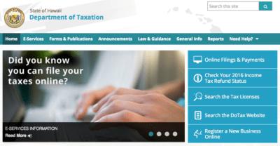 Tom Yamachika: Tips For Hawaii Tax Department Help