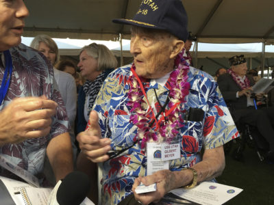 Pearl Harbor Survivors Remember Those Killed 76 Years Ago