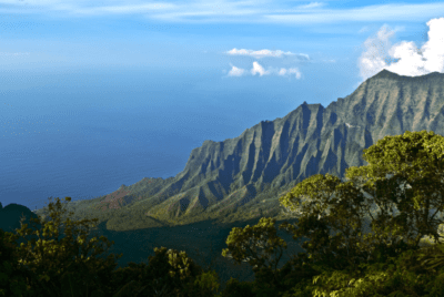 Helicopters Endlessly Shatter The Quiet Of A Kauai Canyon