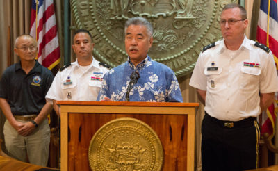 Governor Ige Announces Brigadier General To Head Review Of HEMA