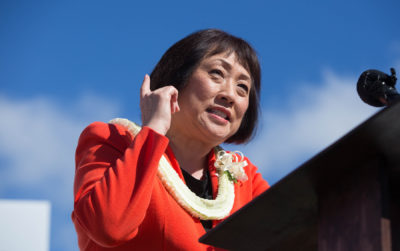 Hanabusa Launches Campaign With Swipe At 'Rudderless' Ige