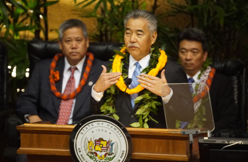 Ige Calls Homelessness Hawaii's Biggest Problem In State Of State Speech