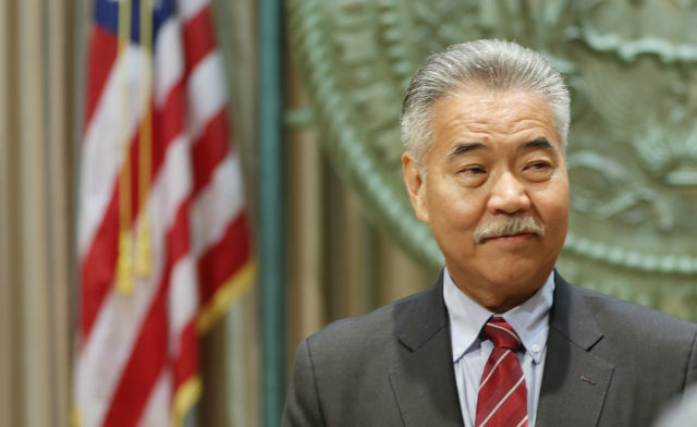 Governor David ige presser legislature opening .