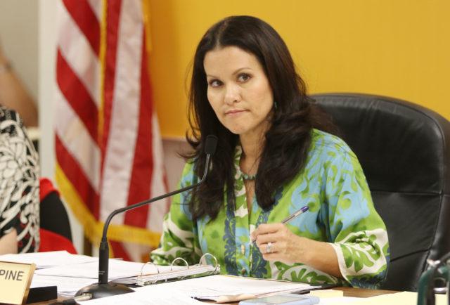 Honolulu City Council Kymberly Pine development hearing.