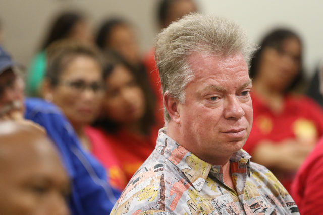 John McDermott during hearing on unlicensed care homes Capitol room 329.