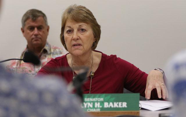 Senator Roz Baker cesspool forum.