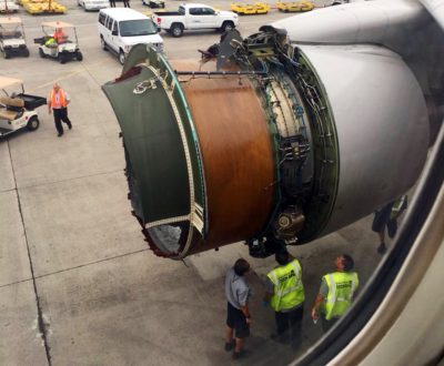 Flight Lands In Honolulu After Losing Engine Cover
