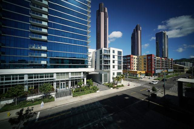 Honolulu Kakaako Collection Condo Waterfront Towers condominiums.