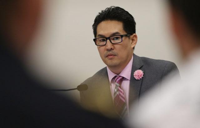 Rep Scott Nishimoto Chair Judiciary committee meeting.