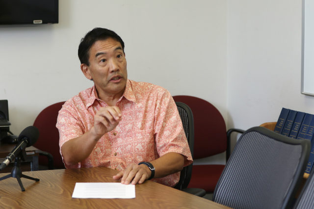 State of Hawaii Auditor Les Kondo press conference on the leaked OHA draft documents.
