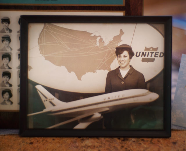 United airlines flight attendant Trudy Wong photograph.