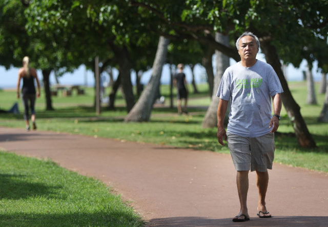 Workers Comp Insurance Calvin Chin Magic Island walk.