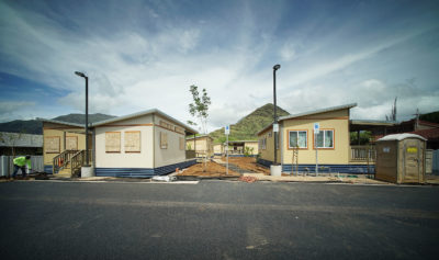 Oahu's First Trailer Park Just The Latest In New Wave Of Public Housing
