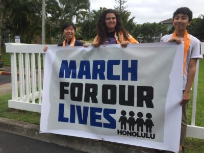 Hawaii Students Organize Four 'March For Our Lives' Rallies