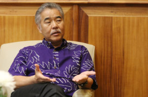 Ige: State Looking For Land To Relocate Waianae Encampment