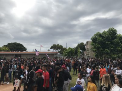 Hawaii Teacher: The Walkout As A Teachable Moment