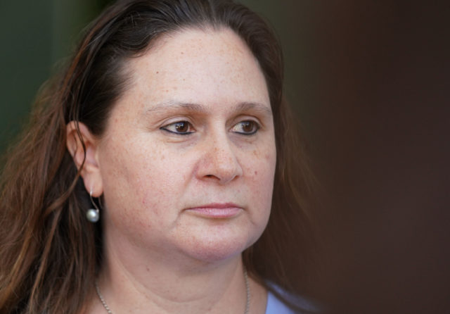 Katherine Kealoha leave District court.