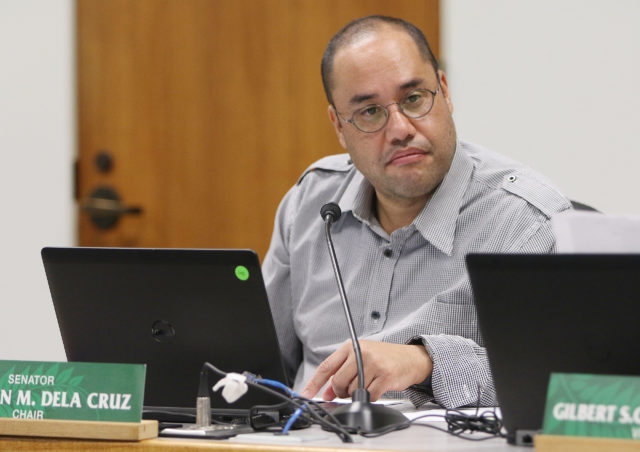 Ways and Means Chair, Senator Donovan Dela Cruz.