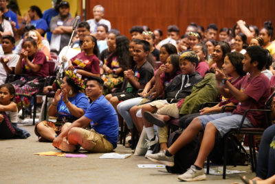 We Are Oceania Micronesian Festival crowd.