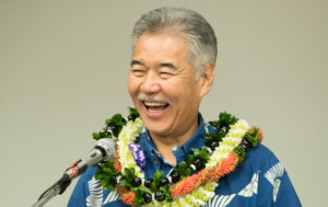 Campaign Corner: Ige Demonstrates Environmental Leadership