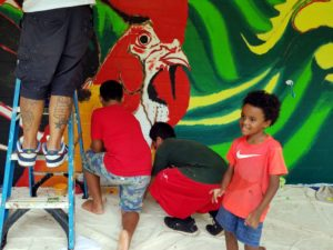 Students Create Visions Of Their Communities With Murals