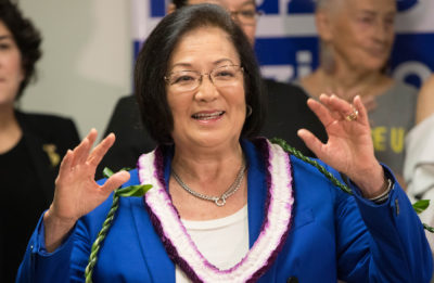 Chad Blair: Hirono Fired Up To Take On Cancer And Trump In Campaign