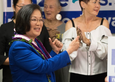 'It's Very Personal To Me:' Hirono Slams Trump's Immigration Policy