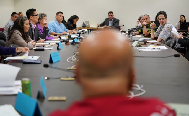 Last Day Conference Committee Sen Gil Agaran foreground.