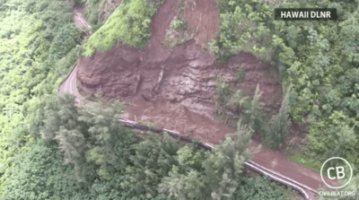 VIDEO: Aerial Video Of Kauai After Flooding April 18, 2018