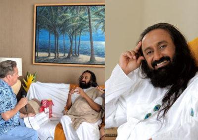 Pod Squad: Ravi Shankar Talks Peace And Happiness In Honolulu