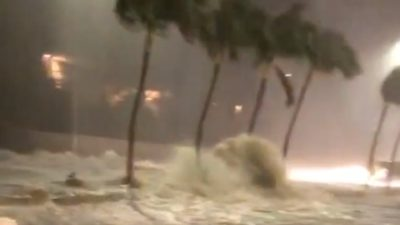 VIDEO: Flash Flooding On Kalanianaole Highway April 13, 2018