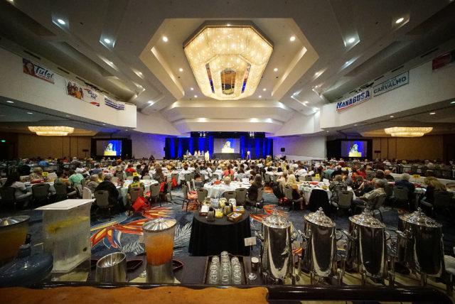 2018 Democratic Convention Hilton Waikaloa ballroom wide.