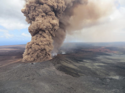 Big Island: Eye In The Sky And Earthbound Gadgetry Track The Lava's Flow